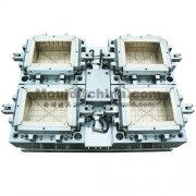 hot runner mould-4 cavities crate mould